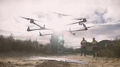 BROLL: Tree Planting Drones